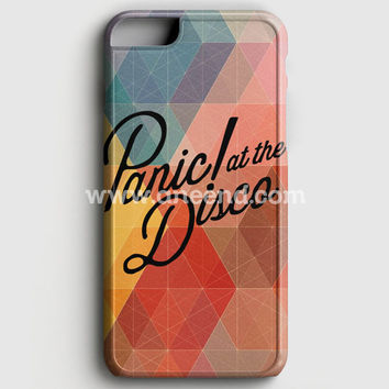 Panic At The Disco Logo Geometric Pastel Iphone 6/6S Case | Aneend