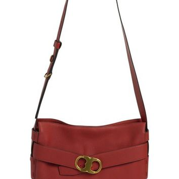 Tory Burch 'Gemini' Belted Leather Hobo | Nordstrom