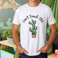 Succulent Shirt, Catus Shirt, Can't Touch This | Unisex T-Shirt, Cactus t shirt, Plant shirt, Sassy tshirt, Succulent Gifts, + Freebie