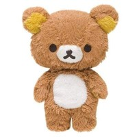 "San-x Rilakkuma Plush w/Secret Pocket 8"" My Only Rilakkuma Series"