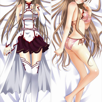 New  Yuuki Asuna - Sword Art Online Anime Dakimakura Japanese Pillow Cover ContestSeventyEight 19