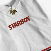 Starboy T-Shirt, Star Boy T-Shirt, The Weeknd T-shirt, The Weekend Tshirt, The Weeknd, Starboy, Cross, Tee, The weekend shirt