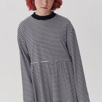 LO Stripe Sally Sack Dress