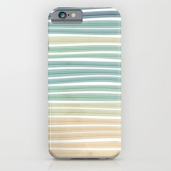 Sand and sea iPhone & iPod Case by EDrawings38