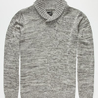 Retrofit Zach Mens Sweater Gray  In Sizes