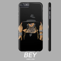Beyonce King Beyhive Bey Slay Formation Video Apple IPhone Phone Case 5 6 6s Plus / Samsung Galaxy s5 s6 Case - Case15