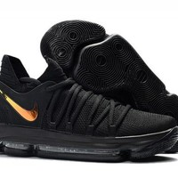 Nike KD 10 'PK80' Black/Metallic Gold For Sale