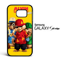 Alvin And The Chipmunks Chipwrecked Beach Clothes V 2077 Samsung Galaxy S6 Edge Case