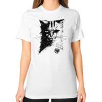 Stray Cat Unisex T-Shirt (on woman)