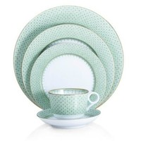 MOTTAHEDEH Green Lace Dinnerware Collection