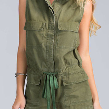 Military Operation Cargo Romper