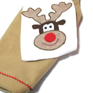 Winter Baby Clothes - Reindeer Bodysuit - Baby Christmas Outfit -Baby Holiday Wear