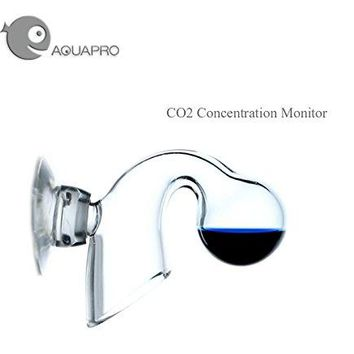 Aquarium Aquapro CO2 glass hang on monitor CO2 concentrate test liquid dropper aquarium water plant fish tank