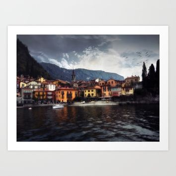 Varenna Art Print by Nicolette Ward