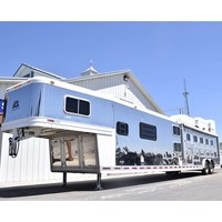 Coolhorse 2005 Platinum Coach 5 Horse Trailer 19' LQ with Bunk Beds & Side Tack