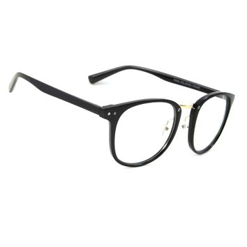 NWT Retro Clear Lens Glasses Genius Fashion Smart Style Men Women Square Frame