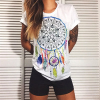 DREAM CATCHER Graphic Tees Women T-shirt