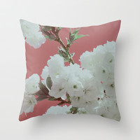 Spring Fling Throw Pillow by Leah Flores