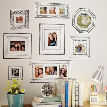 Gallery Frame Decals