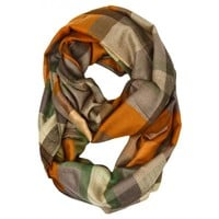 Spencer Plaid Infinity Scarf