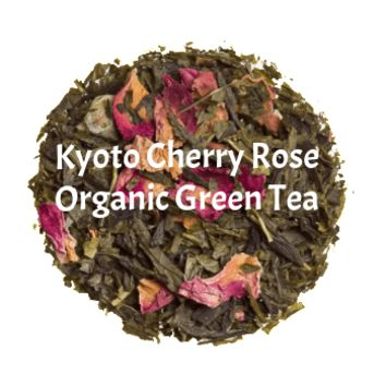 Kyoto Cherry Rose - Organic Loose Green Tea