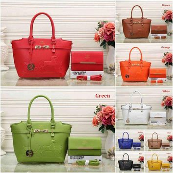 DCCKGV7 Best Online Sale Hermes Women Shopping Leather Crossbody Satchel Shoulder Bag Handbag And Wallet - 9 Color