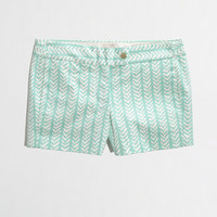 "Factory 3"" printed stretch chino short - AllProducts - FactorySale's Clearance - J.Crew Factory"