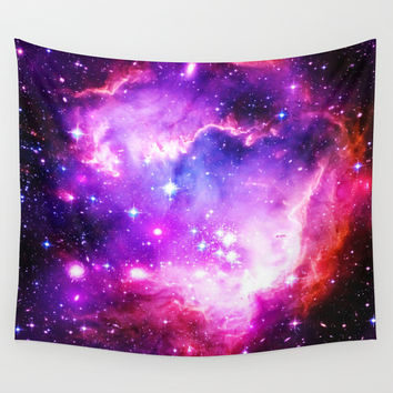 galaxy Wall Tapestry by WhimsyRomance&Fun