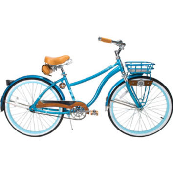 "Walmart: 26"" Huffy Cape Cod Women's Cruiser Bike, Metallic Aqua"