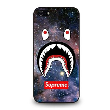 BAPE CAMO SHARK SUPREME NEBULA iPhone 5 / 5S / SE Case Cover