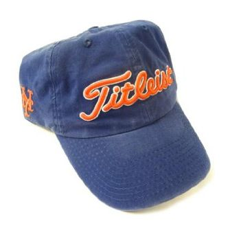 NEW Titleist MLB New York Mets Navy Adjustable Golf Hat/Cap