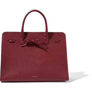 Mansur Gavriel - Sun large textured-leather tote
