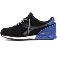 Titan Suede Sneakers Black / Blue