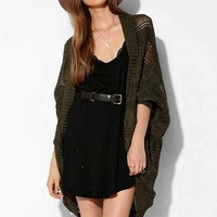 Silence + Noise Drop-Stitch Cocoon Cardigan-