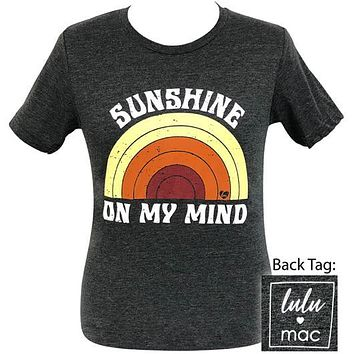 Girlie Girl Originals Lulu Mac Preppy Sunshine On My Mind T-Shirt