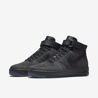 The Nike Air Force 1 Ultra Flyknit Men's Shoe.