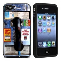 Pay Phone Case / Cover For Apple iPhone 4 or 4s by Atomic Market