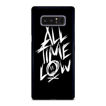 ALL TIME LOW LOGO Samsung Galaxy Note 8 Case