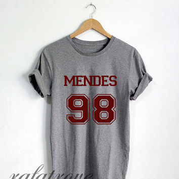dc784158 Mendes 98 Shirt Shawn Mendes Tshirt from RafaTrove on Etsy