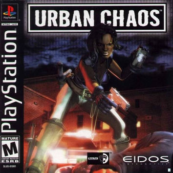 Urban Chaos - Playstation (Very Good)