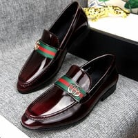 Gucci Man Fashion Casual Shoes Flats Shoes