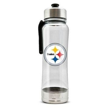 NFL Clip‑On Water Bottle: Pittsburgh Steelers