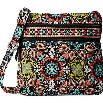 Vera Bradley Women's Triple Zip Hipster Sierra Cross Body