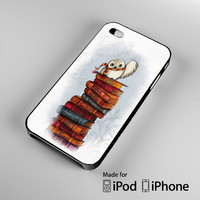 Harry Potter Owl Hedwig A0634 iPhone 4S 5S 5C 6 6Plus, iPod 4 5, LG G2 G3, Sony Z2 Case