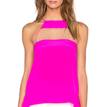 CAMI NYC The High Top Cami in Hot Pink