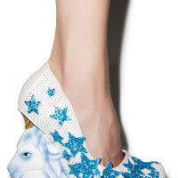 Irregular Choice The Eternal Friend Heels White