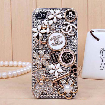 Bling iphone 5 case iphone 5s case clear iphone 5c case sliver iphone 4 4s case iphone 5 bling case