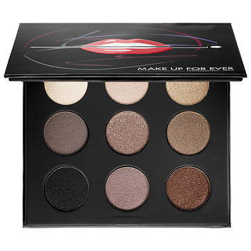 MAKE UP FOR EVER Artist Palette Volume 1 – Nudes (9 x 0.06 oz Nudes You Need)