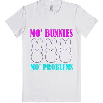 Mo Bunnies Mo Problems Funny Easter T-Shirt