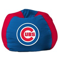 Chicago Cubs MLB Team Bean Bag (96 Round)